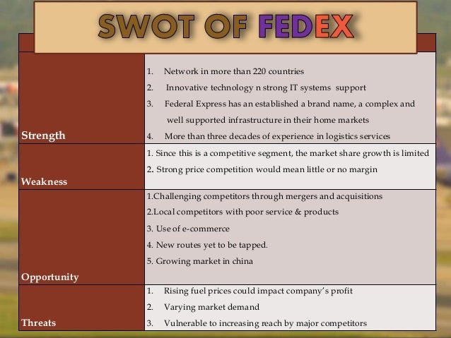 UPS United Parcel Service SWOT Analysis, Competitors & USP