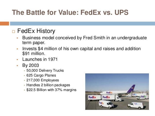 fedex case study analysis Ups case study: inside out dawson wood business process manager ups current and to provide organizational training in process analysis and design.