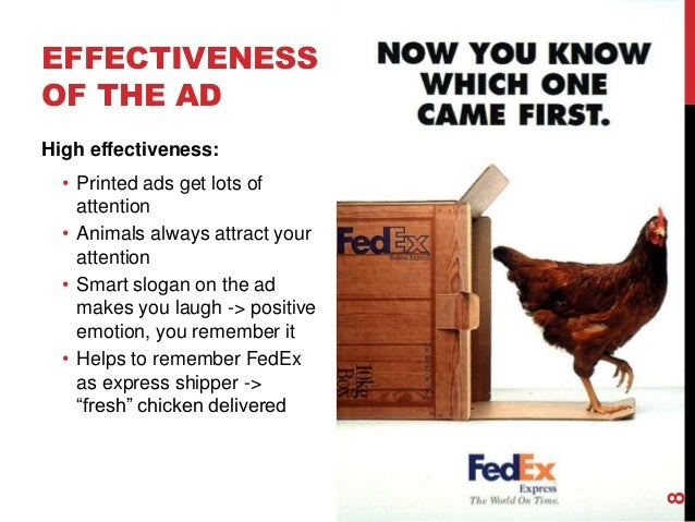 Fedex Advertisement With Chicken Analysis
