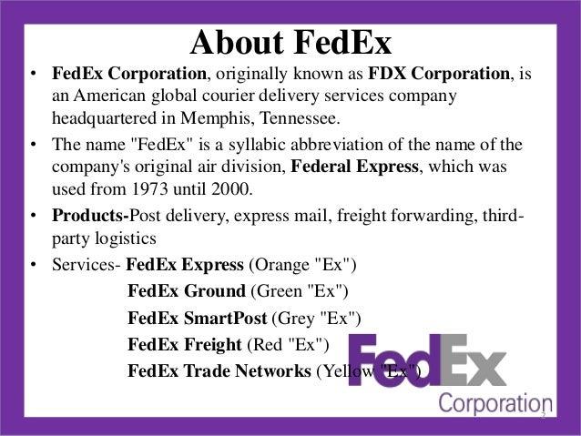 federal express case