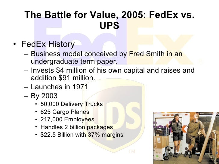 fedex term paper Evaluating fedex fedex article response 1 capacity is basically the amount that something can hold this may refer to the amount that a manufacturing company can produce, or the amount that a warehouse can store.