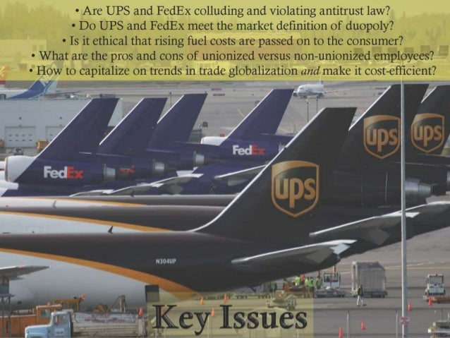 fedex ethical issues Corporation fedex compliance and ethics 2011 introduction key issues faced by fedex & ups porterâ €™s five forces analysis all fedex ethics.