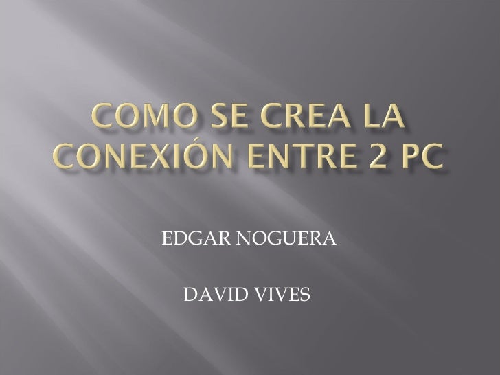 EDGAR NOGUERA DAVID VIVES