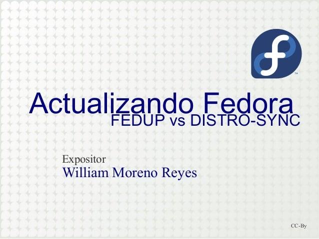 Fedora update