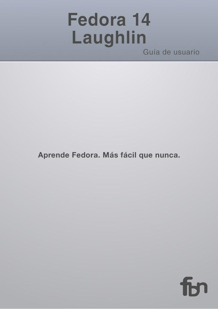 Fedora14 e book