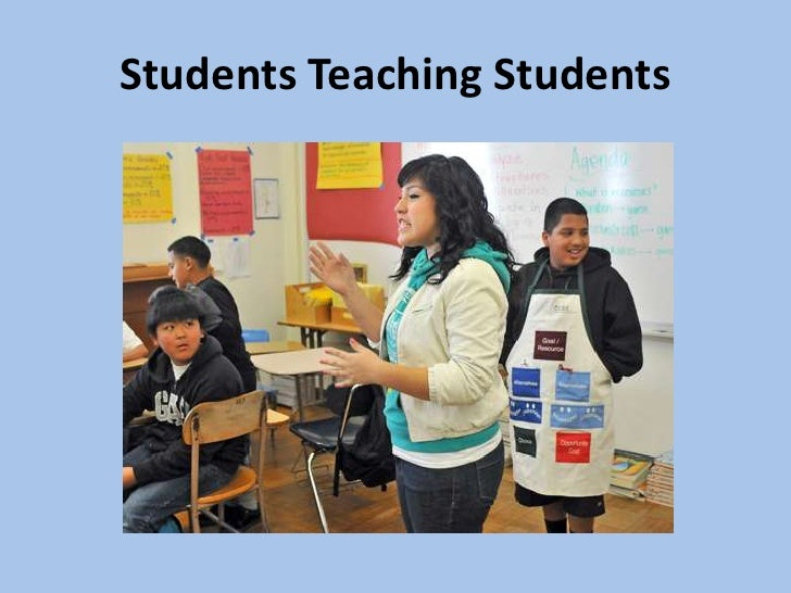 Fed students teaching students