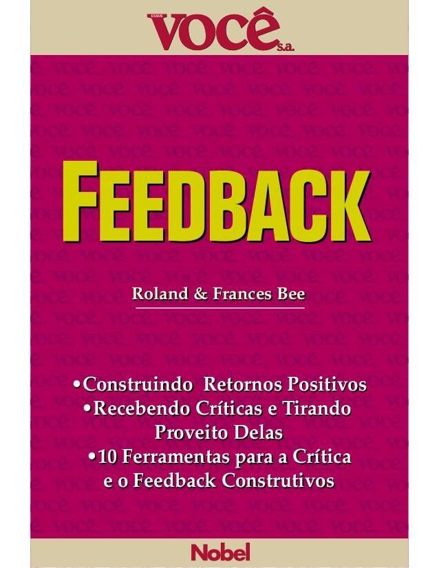 Feedback - Você SA
