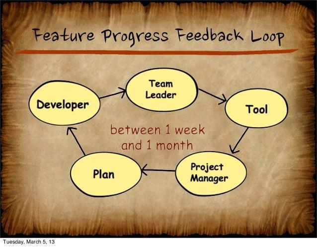 Software Feedback Loop Question How Feedback Loops