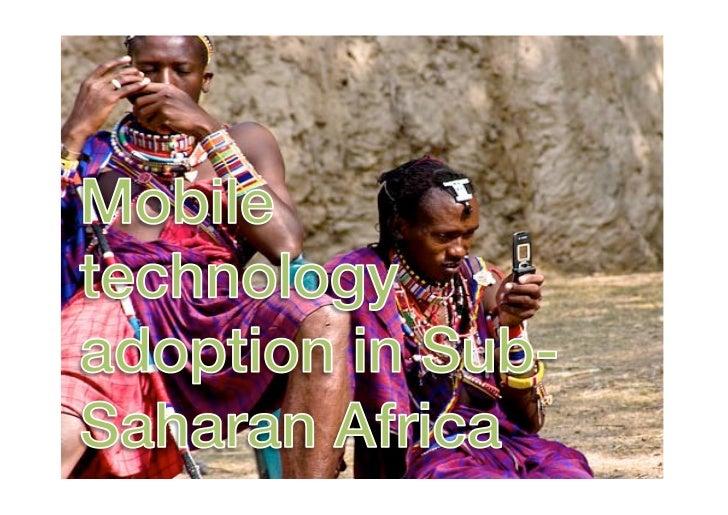 Mobile technology adoption in Sub-Saharan Africa_Kenya Feedback