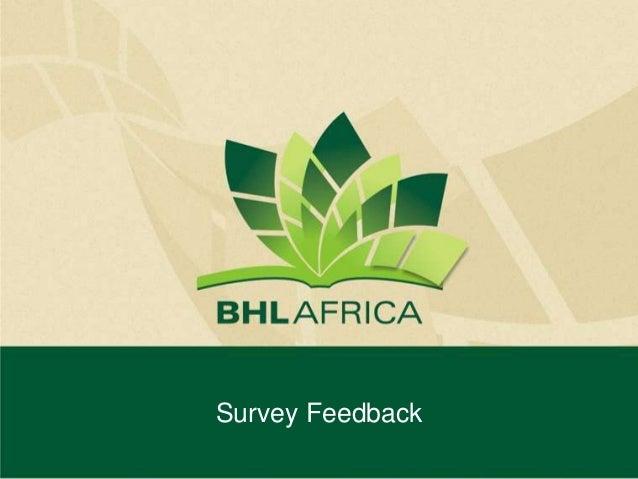 BHL-Africa Workshop - Digitization Survey Feedback responses