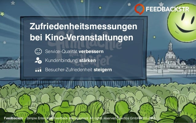 Feedbackstr – Simple Enterprise Feedback Management. All rights reserved Spectos GmbH 2001-2015.Feedbackstr – Simple Enter...