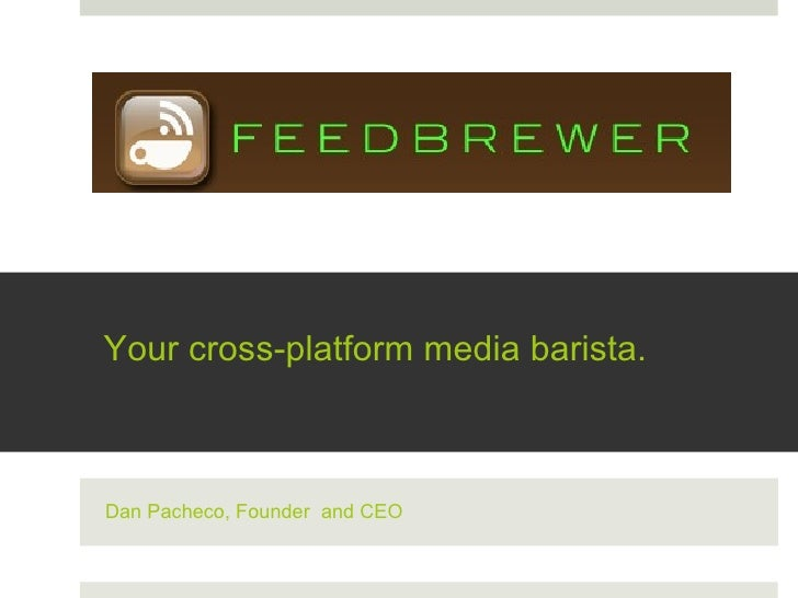 Feedbrewer preview