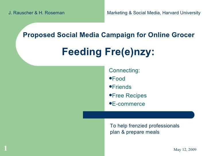 Feeding Fre(E)Nzy Marketing Execution Presentation Slide Share Version