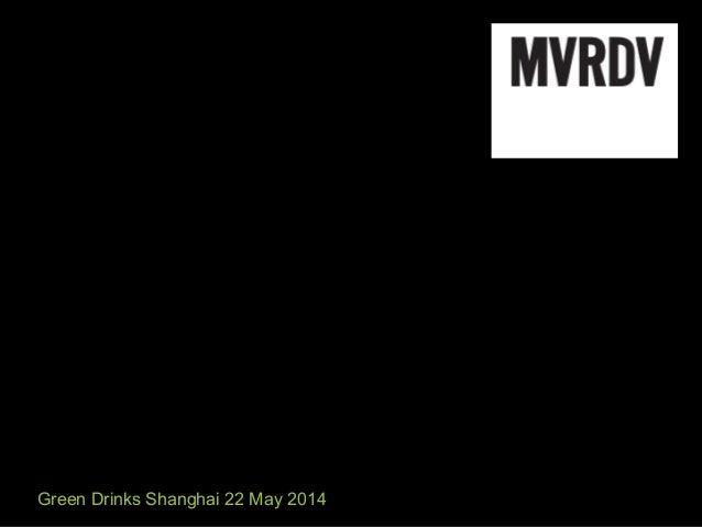 Green Drinks Shanghai 22 May 2014