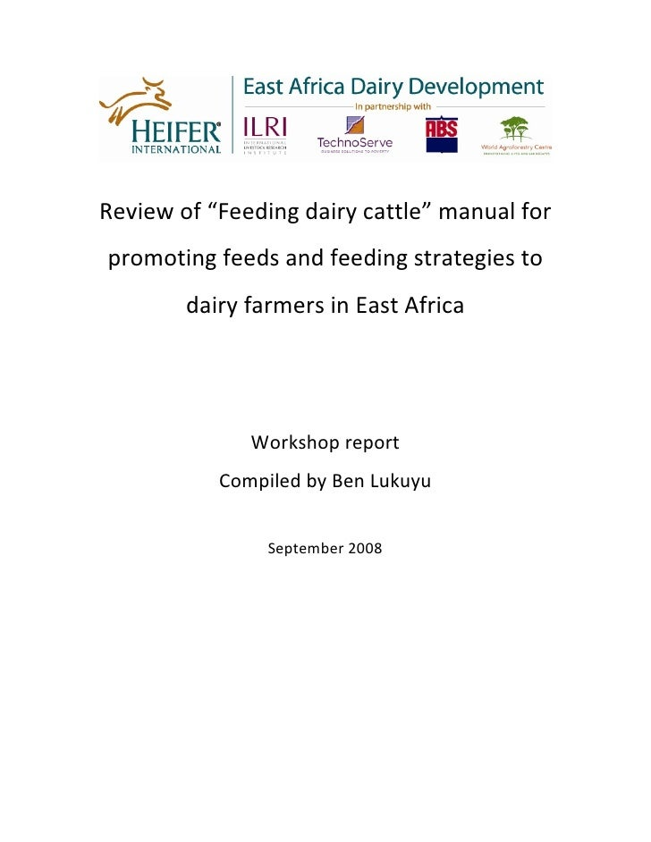 Feed Manual Review Workshop Report