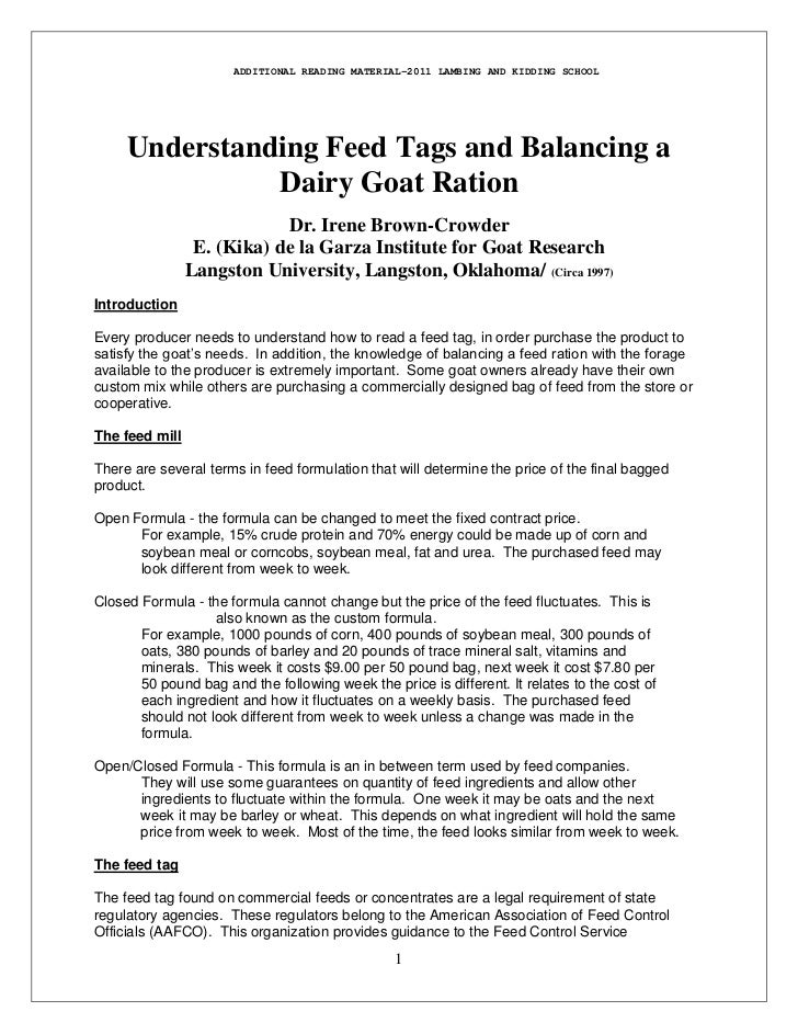 Understanding a feed tag