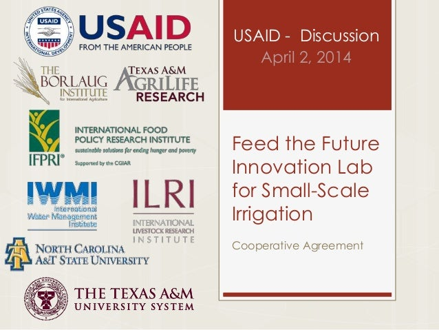 Feed the Future Innovation Lab for Small Scale Irrigation
