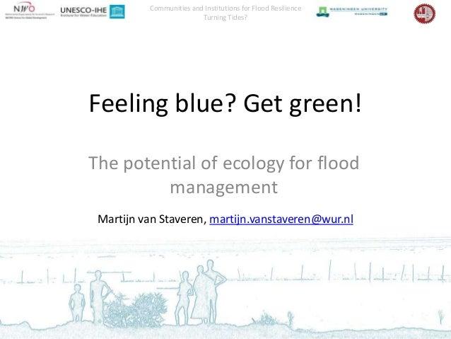 """Martijn van Staveren """"Feeling blue get green"""""""