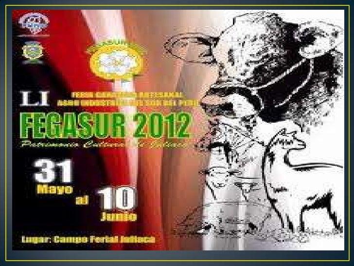 Fegasur 2012