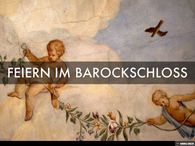 Feiern im Barockschloss