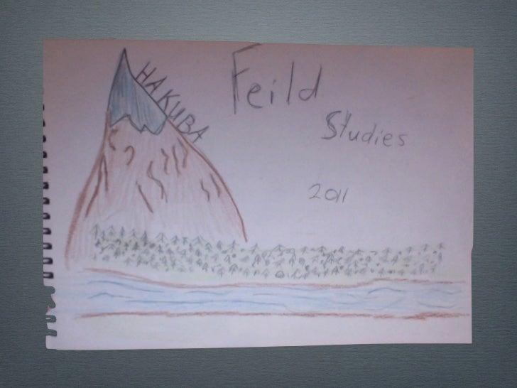 Feild studies