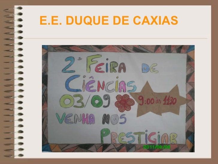 E.E. DUQUE DE CAXIAS