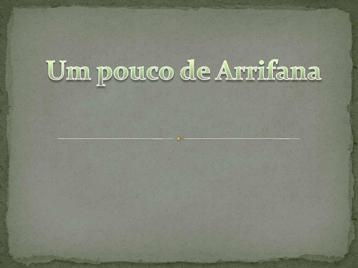 Neste trabalho vamos dar a conhecer um pouco da nossa terra, Arrifana: A Feira dos 4 Capela de Santo Estêvão