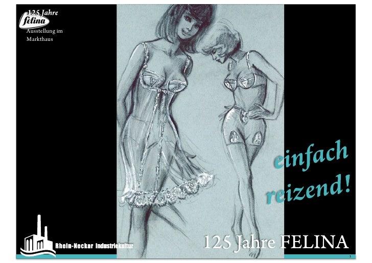 125 Jahre Felina