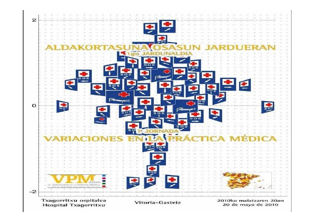 I Jornada de Variación de la Práctica Médica-  Diferentes Atlas publicados