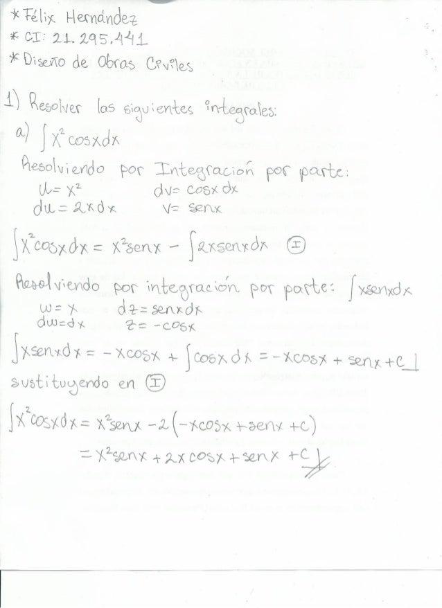 Ejercicios (3) Felix hernandez