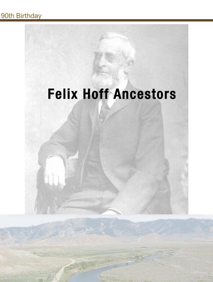 Felix master ancestors