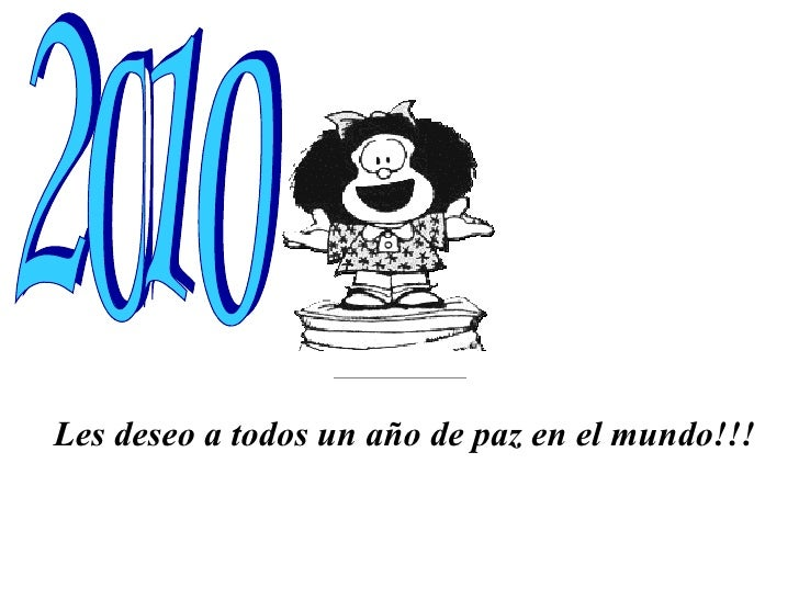 Feliz 2010 Mafalda