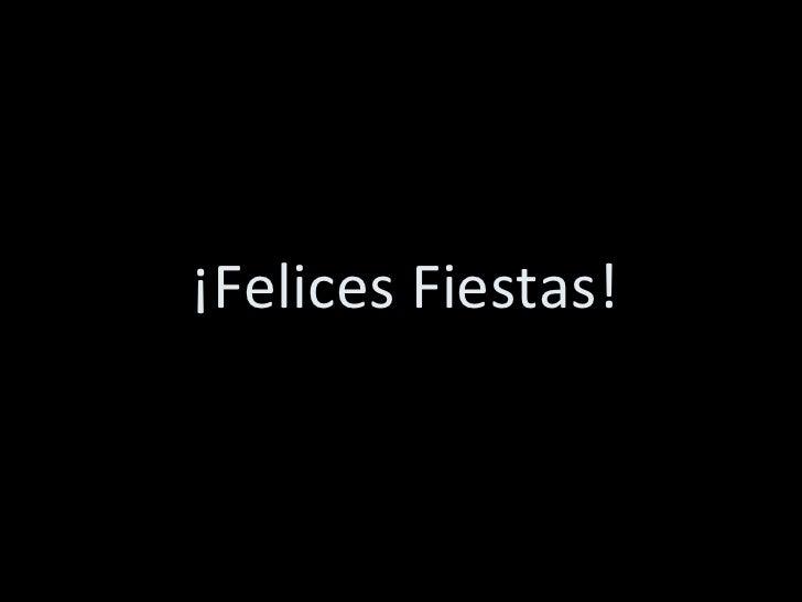 Felices Fiestas 2008!