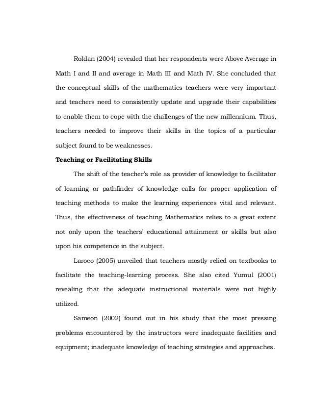 Abstract Dissertation In Mathematics