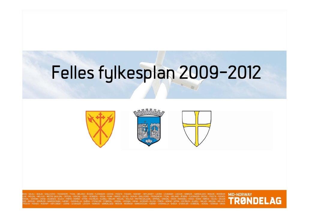 Felles fylkesplan 2009-2012