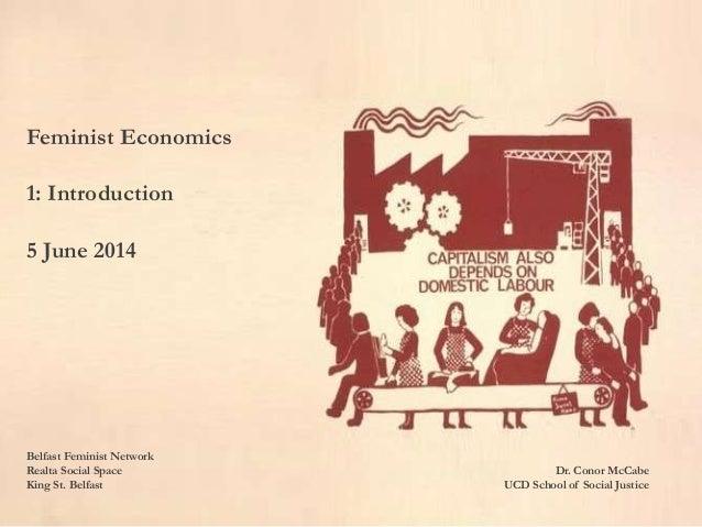 Feminist Economics - An Introduction