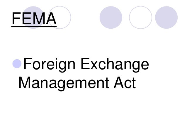 FEMA Foreign Exchange Management Act