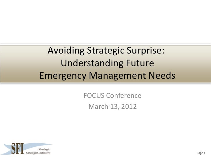 Fema sfi final-sfi_focus_briefing