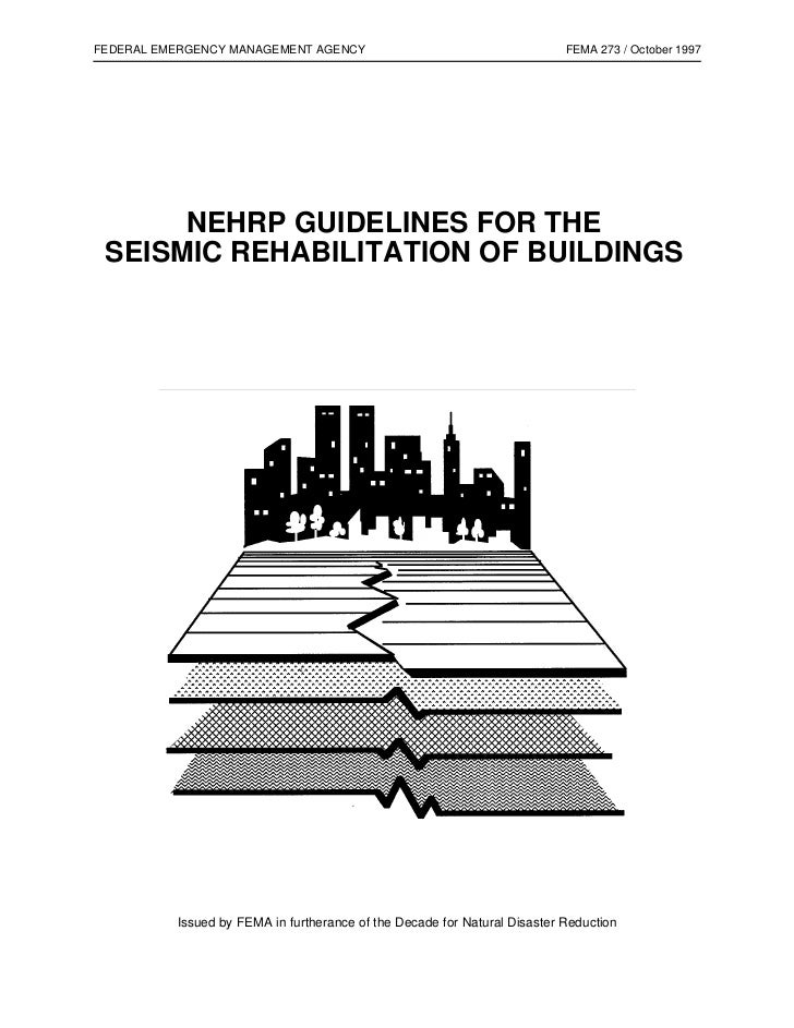 FEDERAL EMERGENCY MANAGEMENT AGENCY                                        FEMA 273 / October 1997      NEHRP GUIDELINES F...
