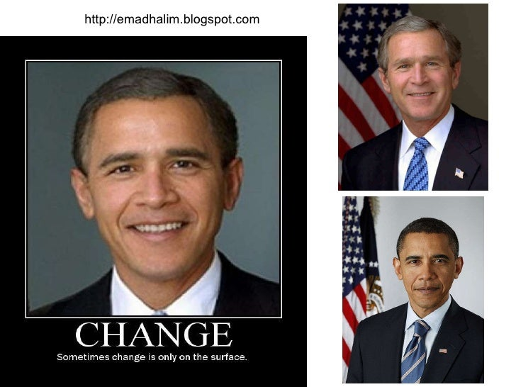 Bush - obama