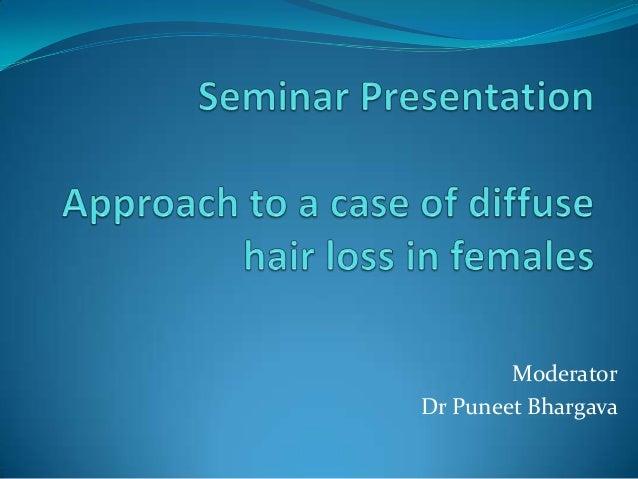 Moderator Dr Puneet Bhargava