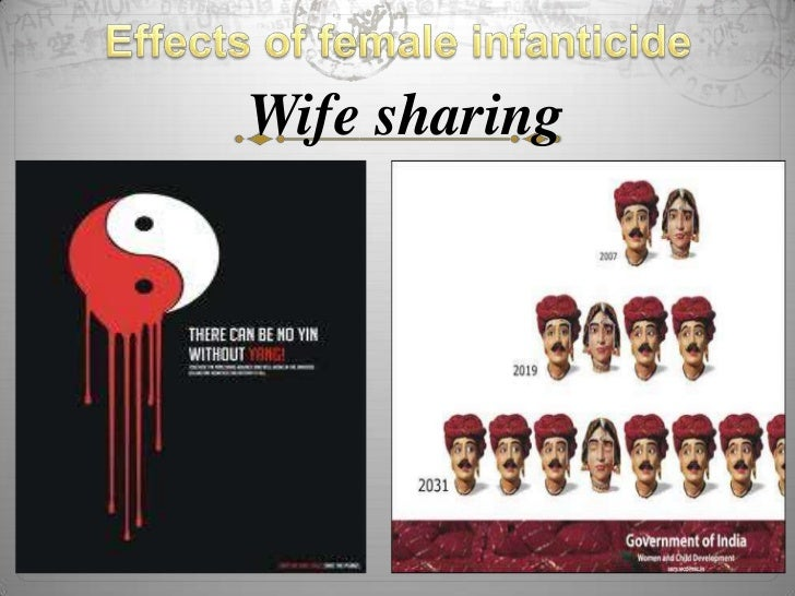 how to eradicate female infanticide Female infanticide is a deliberate and intentional act of killing a female child within one year of its birth either directly by using poisonous organic and inorganic chemicals or indirectly by deliberate neglect to feed the infant by either one of the parents or other family members.