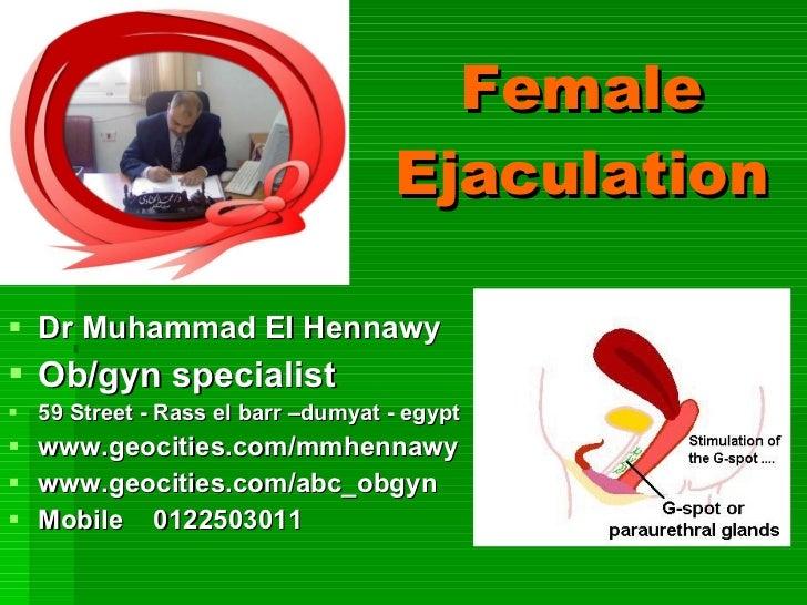 Femalejaculation