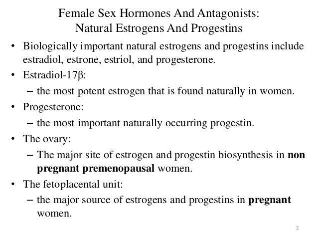 functions of sex hormones
