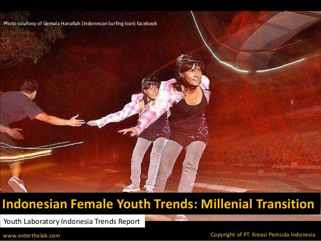Indonesian Female Youth Trends: Millenial Transition Photo courtesy of Gemala Hanafiah (Indonesian Surfing Icon) facebook ...