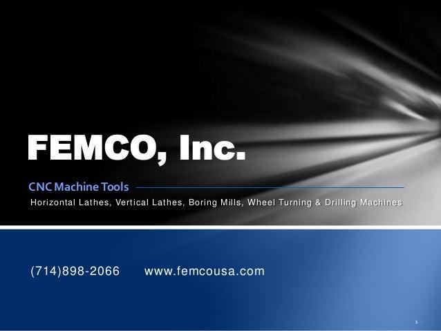 Femco machines-2013