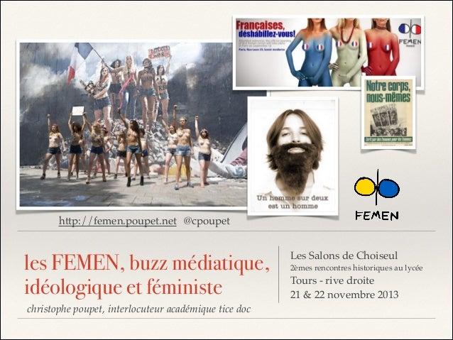 http://femen.poupet.net @cpoupet  les FEMEN, buzz médiatique, idéologique et féministe christophe poupet, interlocuteur ac...