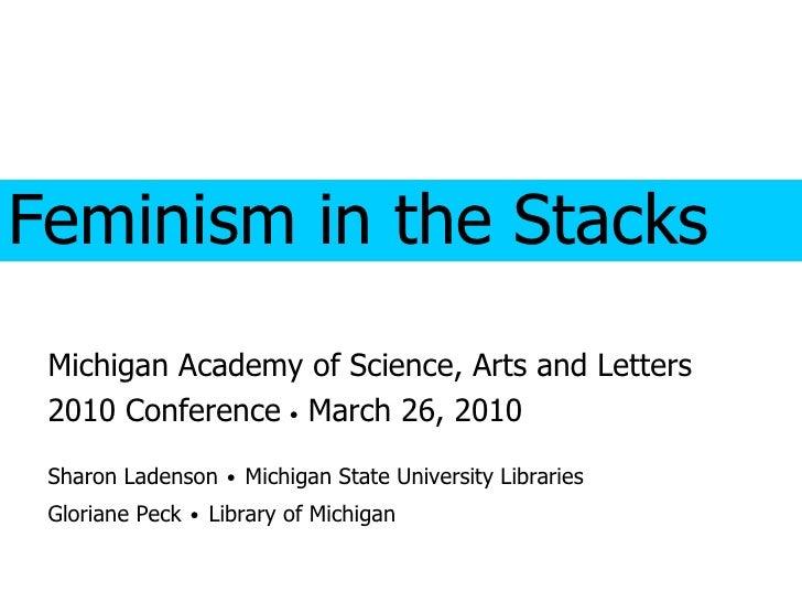 Feminism in the Stacks