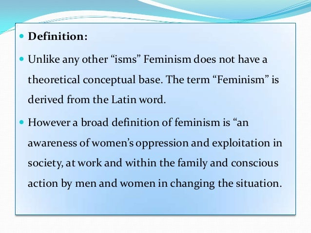Do you agree or disagree with this definition of