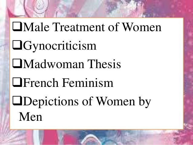 feminist perspective of the role of lady madeline essay Feminism feminist women criticism title: women's sinister roles in shakespeare's macbeth role of motifs in shakespeare's macbeth essay - role of motifs in remarks on the character of lady macbeth, sarah siddons comments on how the feminine role of the leading lady is.